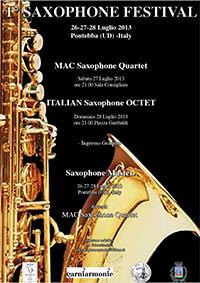 Saxophone Festival 2013