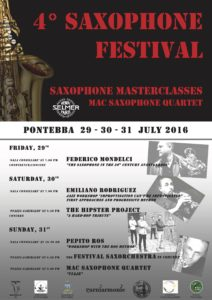 4° Pontebba Saxophone Festival – 2016