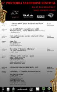 5° Pontebba Saxophone Festival – 2017