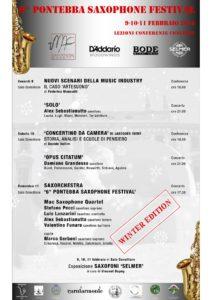 6° Pontebba Saxophone Festival – 2018