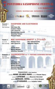 7° Pontebba Saxophone Festival – 2019