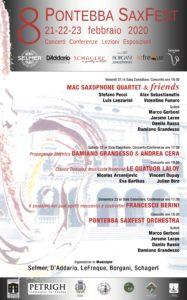 8° Pontebba Saxophone Festival – 2020